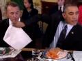 《艾伦秀第12季片花》S12E47 奥巴马与共和党人进餐搞笑画面