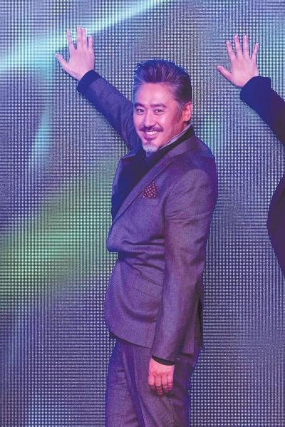 吴秀波以活动形象大使的身份到场。京华时报记者吴平摄