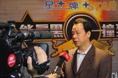 图文:北京台球俱乐部联赛落幕 甘连童接受采访