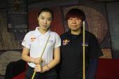 图文:北京台球俱乐部联赛落幕 女选手靓丽