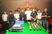 图文:北京台球俱乐部联赛落幕 赛后颁奖仪式