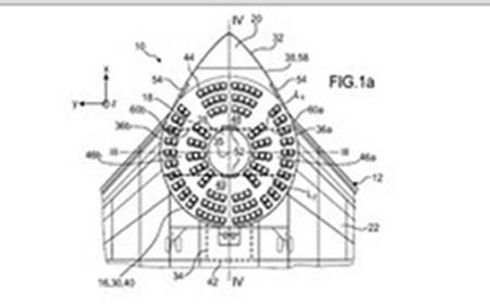 空客未来客机设计概念图.图片