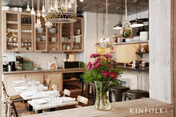 小餐馆吧台内部结构图-纽约餐厅Root Bone 身处文艺阵地的复古