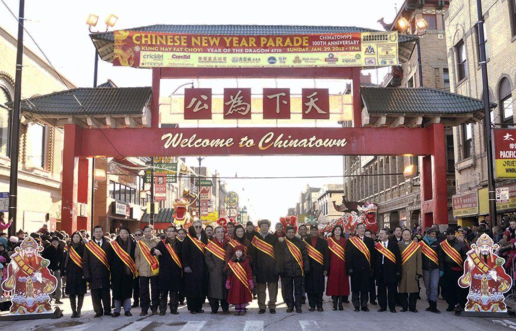 美国十次日加_美国芝加哥将在全城庆祝中国春节(图)