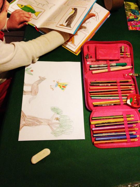 正确引导孩子喜欢画画 图文