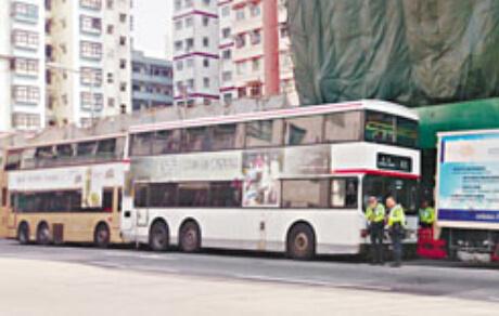 图为事发现场。图片来自香港《大公报》