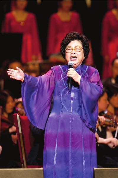 著名歌唱艺术家王昆(资料图)