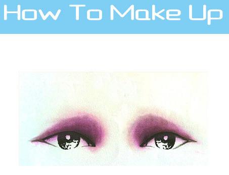 最全教程 各种眼影画法图解