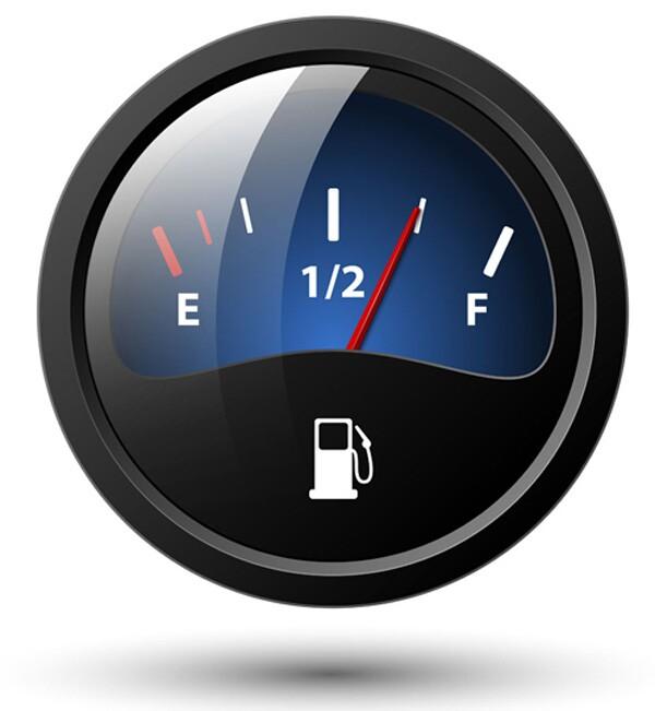 不能完全依赖燃油表