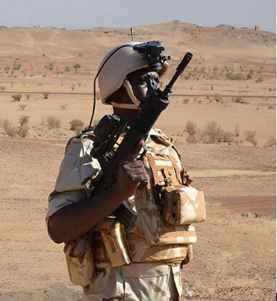 苏丹未来战士系统选用97步枪 购进大量中国武器-搜狐军事频道