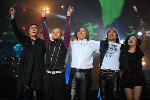 零点乐队工体演唱会火爆落幕