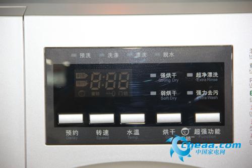 小天鹅TD70-1229E(S)洗衣机控制面板