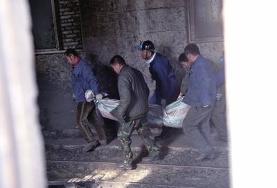 辽宁阜新矿业(集团)有限责任公司下属的恒大煤业公司发生煤尘燃烧事故