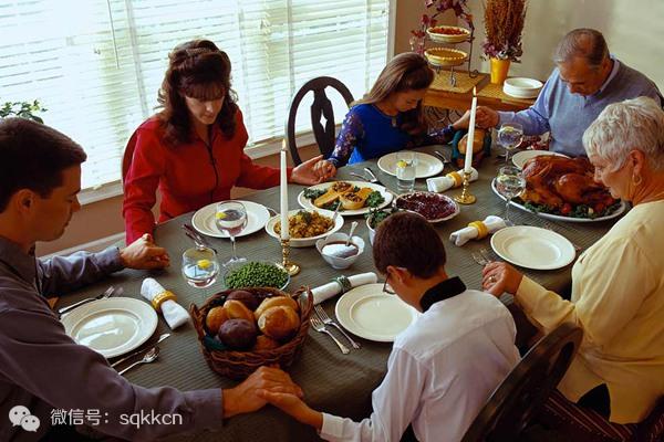 美国人爱吃的感恩节食物