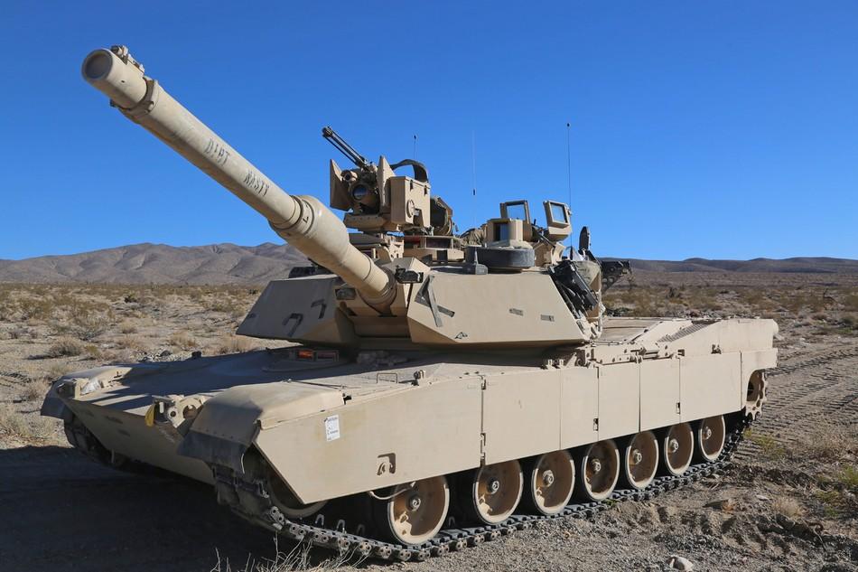 ����4_近日,美国陆军第4步兵师第3旅战斗队第66装甲团第1营出动m1a2改进型主