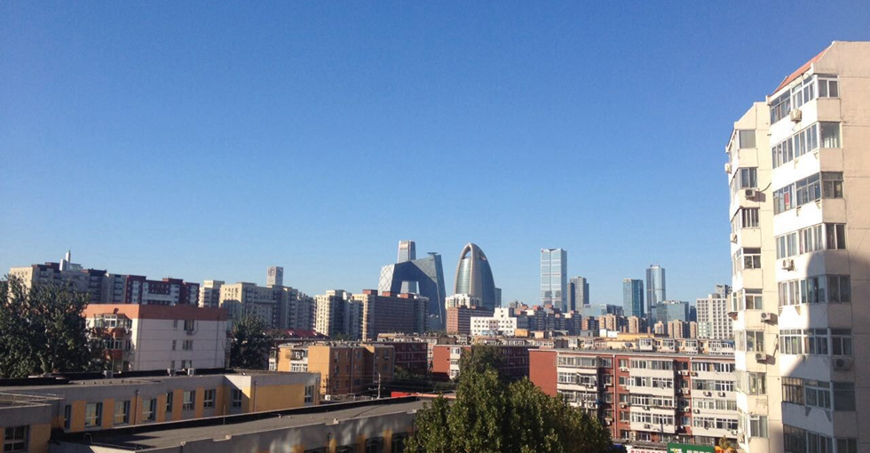 11月29日北京空气质量再陷重度污染。