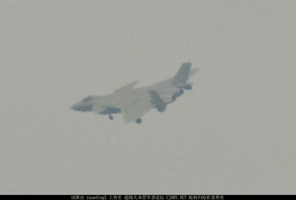 港媒:歼20原型机批量生产 歼20A首次曝光(图)