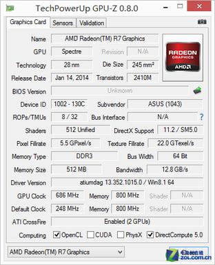 FX7600P交火 华硕VM590Z APU影音本评测