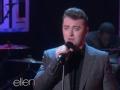 《艾伦秀第12季片花》S12E59 萨姆献唱全美音乐奖表演歌曲