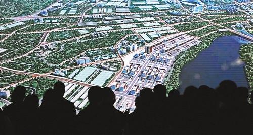 览馆,参访团正在了解璧山区概况.   12月2日,   长安汽车高清图片