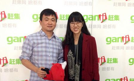 杨浩涌与《首席对话》主持人陈洋合影