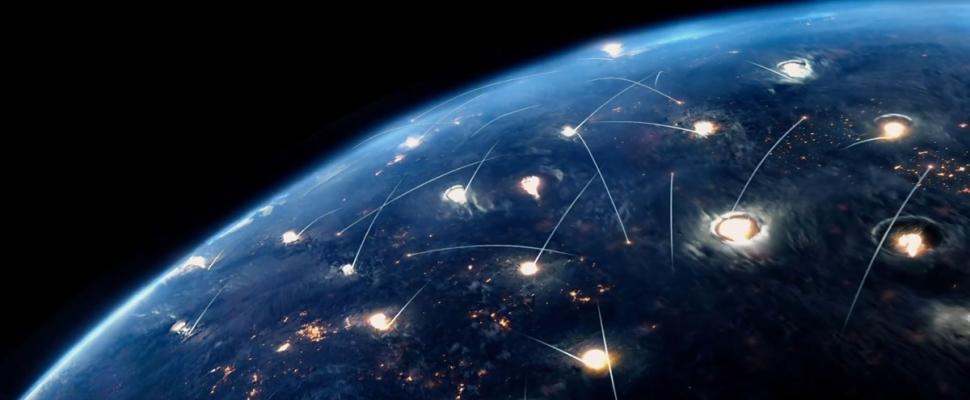 阿诺施瓦辛格,杰森克拉克主演的动作科幻电影《终结者:创世纪》已师生关系的英文电影图片