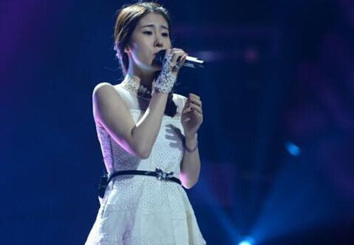 张碧晨成为《中国好声音》第三季总冠军
