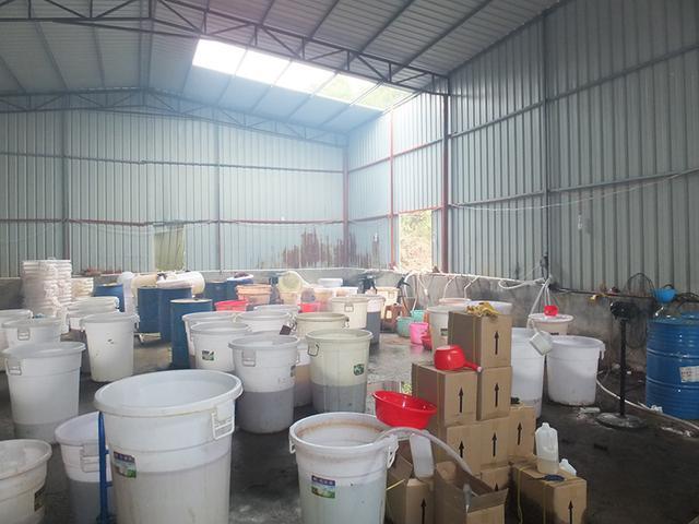犯法怀疑人租赁的用于制作毒品质料的堆栈