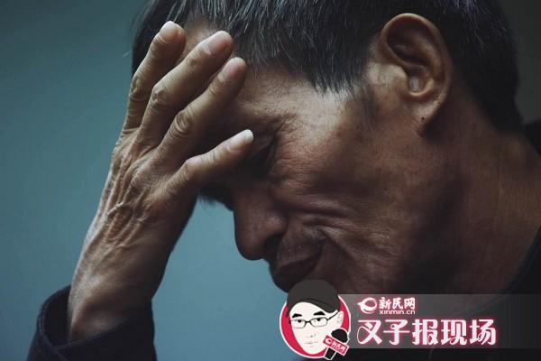 """图说:林尊耀让律师转告儿子""""一定要说真话""""。新民晚报新民网记者 萧君玮 摄"""