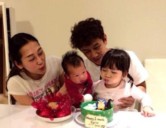 陈浩民妻第3胎生产在即抱怨累