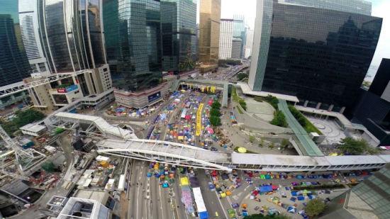 香港七千警力候命清场占中 资料图