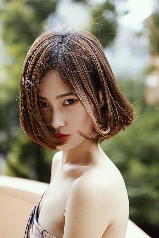 艳姆����_红唇微启裸香肩诉青春 中樱桃赵亚楠艳美如画(组图)