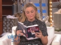 《艾伦秀第12季片花》S12E64 艾米读新书致谢名单引艾伦崩溃