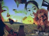 图文:李子君庆祝18岁生日 可爱照