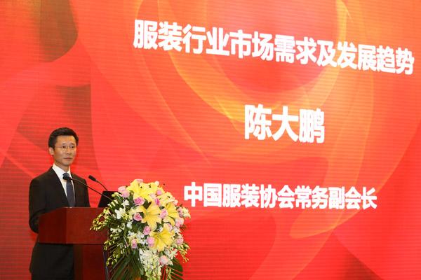 中国服装协会常务副会长陈大鹏