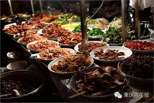 十大美食街没重庆?重庆十大美食街秒杀试美食节吃奎屯图片