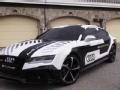 [海外试驾]赛道测奥迪RS7无人驾驶概念车