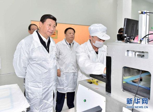 11月1日至2日,习近平在福建调研。新华社记者 李涛