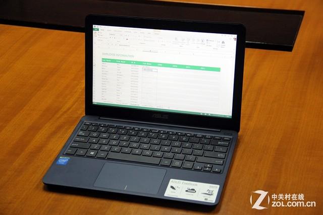 工作娱乐全能 华硕X205TA挑战苹果iPad