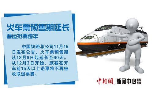 火车票预售期延长春运抢票跨年