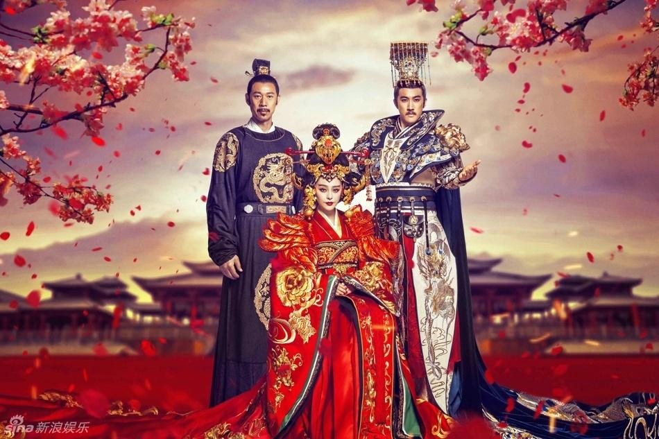 古装电视剧《武媚娘传奇》于21日晚19:30登陆湖南卫视金鹰独播剧场.图片