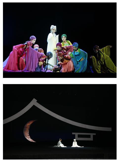 该剧主题曲《贪念》特别邀请到乐坛天后韩红唯美献唱。此外,为了增强演出的绝对真实与生动性,音乐剧《聂小倩与宁采臣》全程由现场乐队伴奏。