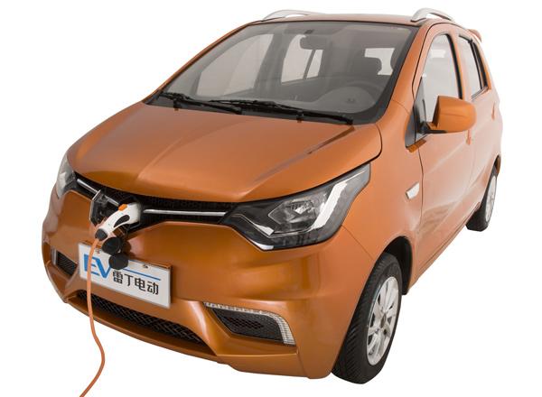 雷丁电动车D70-雷丁新车3.99万起 低速电动野心如何成就高清图片