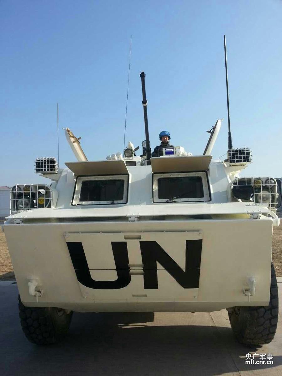 22日上午,中国首支维和步兵营在济南军区举行出征誓师大会,即将赴南苏丹执行联合国维和任务。