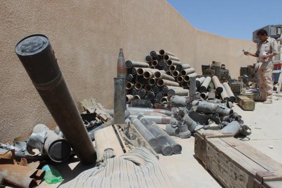 利比亚境内的武器。联合国网站。