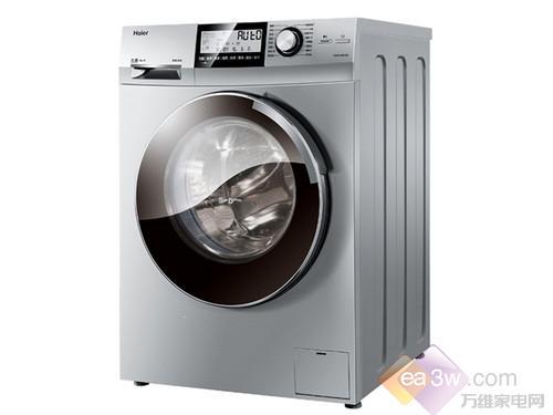 海尔XQG80-HBD1626滚筒洗衣机是海尔水晶系列中的高端产品,集合了蒸汽烘干与污水干衣的优势,蒸汽可渗透6层组织纤维,并且采用高精度传感器,可智能变频烘干,达到衣干即停。