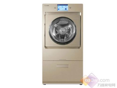 这款卡萨帝 XQGH100-HBF1427洗衣机采用复式滚筒设计,金色的外观,简约高贵。操控面板简约至极,7寸的超宽触控屏能清晰的呈现操作界面,采用图文导航让人们操作更加简洁、方便。
