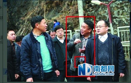 本年3月,李开国遭网帖检举系了一条LV皮带。图像来历:咫尺论坛
