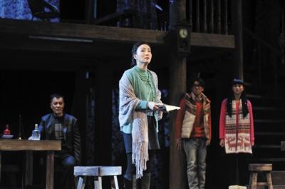 《长夜》反映了农民工生存现状。 王雨晨 摄
