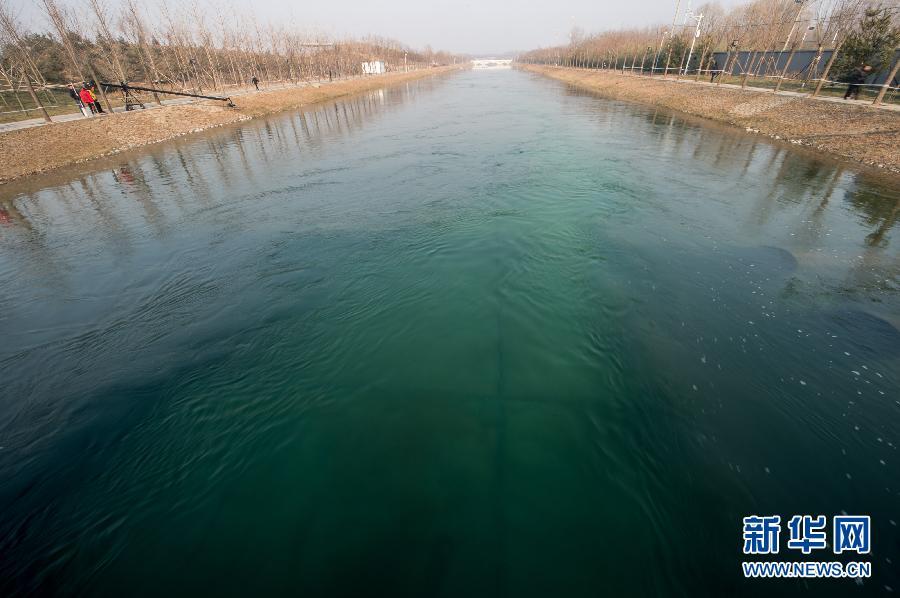 北京南水北调中线一期工程正式通水